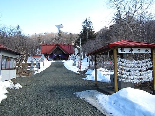 春の常呂神社
