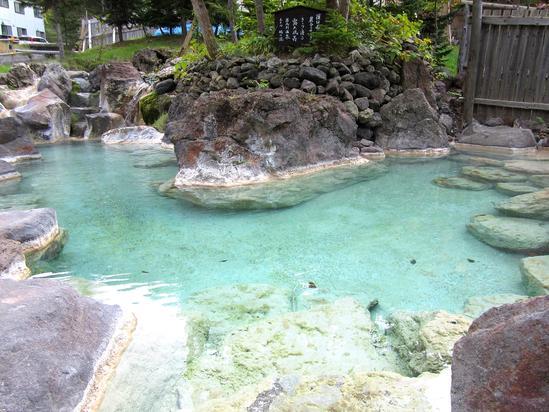 知床岩尾別温泉「ホテル地の涯」 混浴露天風呂