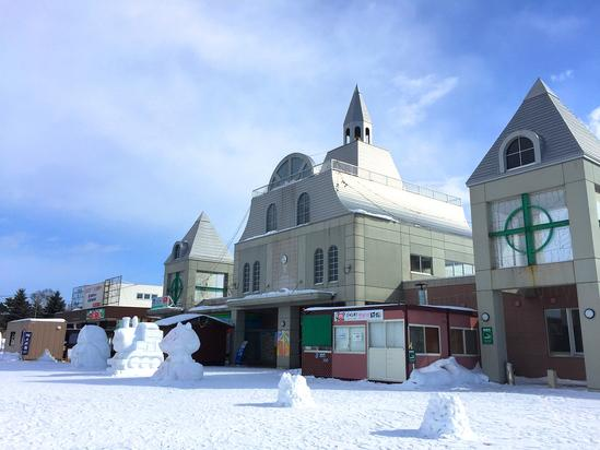 真冬の道の駅「めまんべつメルヘンの丘」大空町女満別&Abba