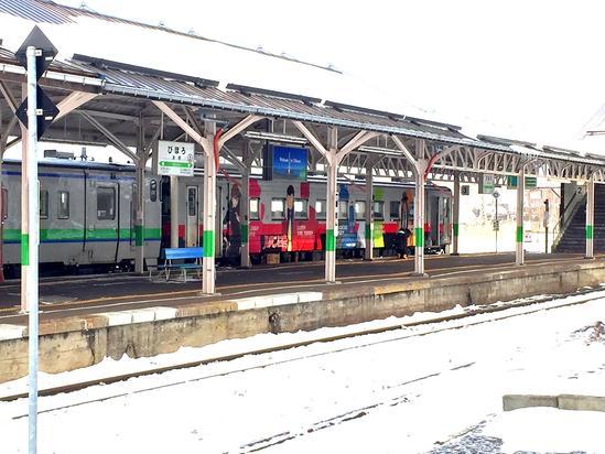 美幌駅 ルパン三世の汽車