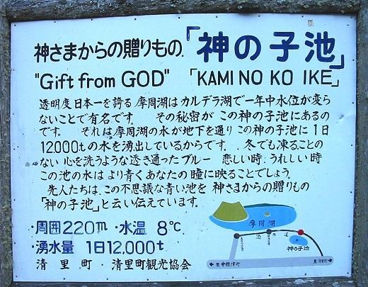 神さまからの贈りもの「神の子池」