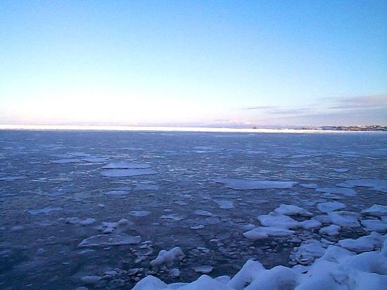 流氷 海岸線 網走市